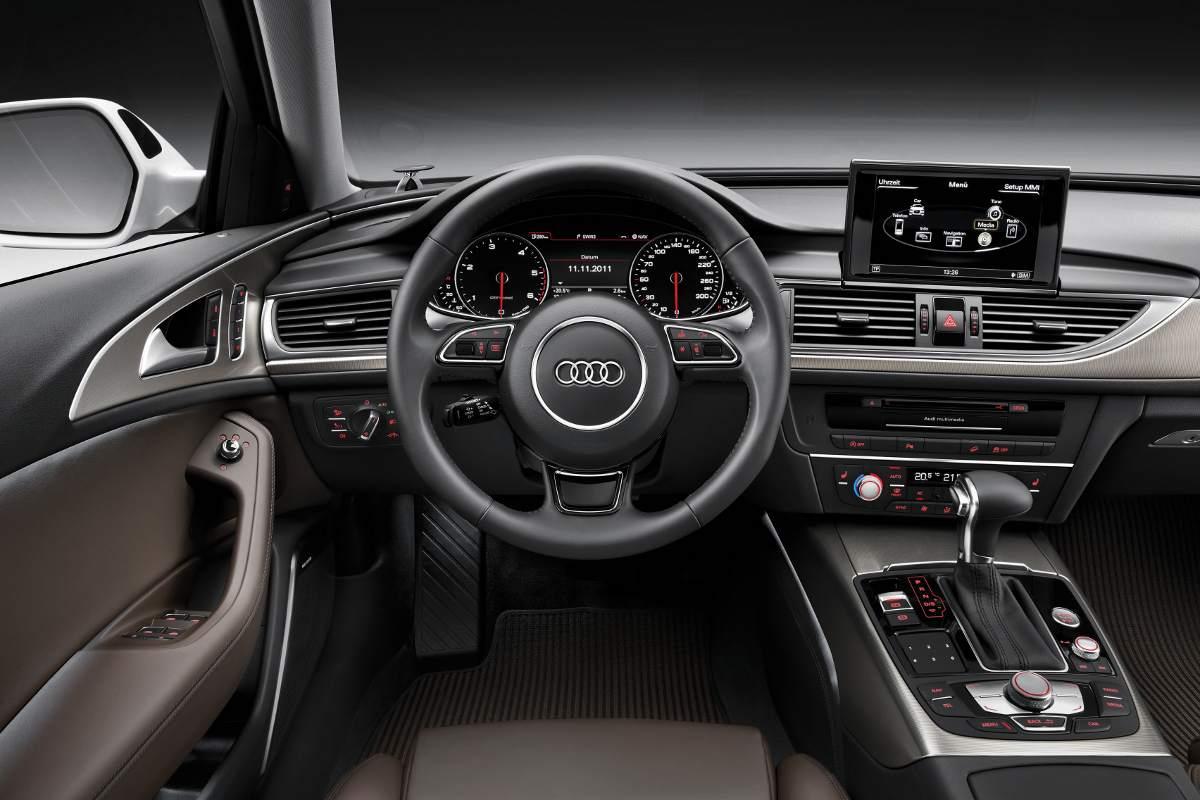 Audi a6 c7 avant for Audi a6 avant interieur