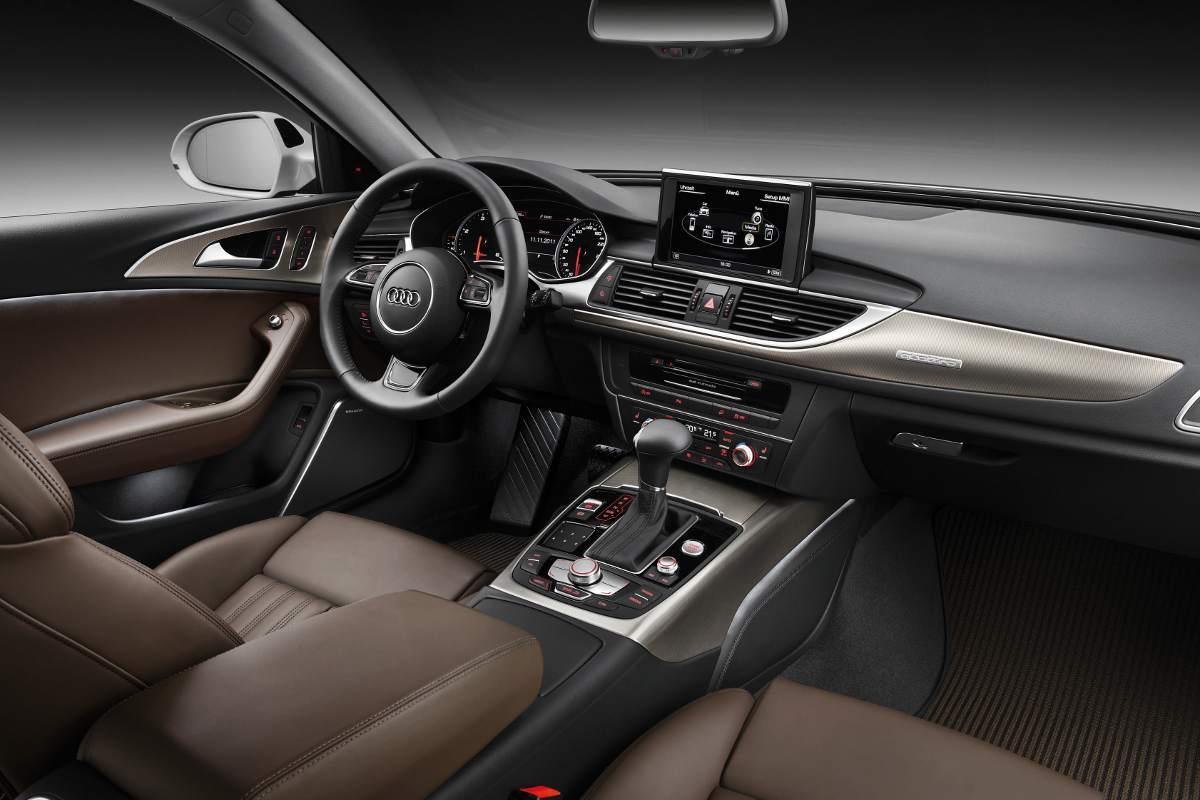 Audi a6 c7 avant for Lederen interieur audi a4