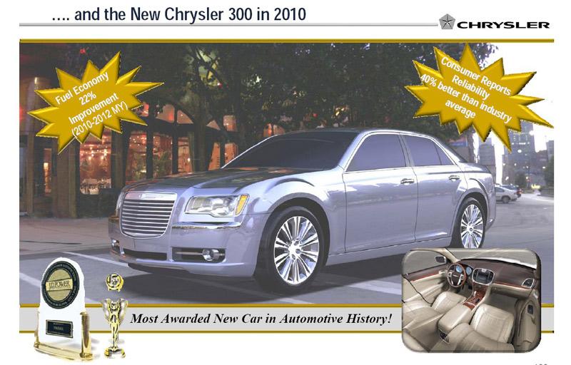 Компания Chrysler нечаянно показала …