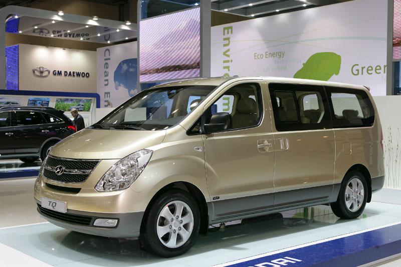 Hyundai h1 verbruik