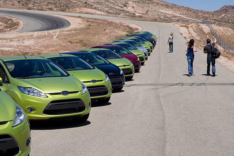 Productie Fiesta naar Amerika
