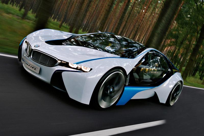 BMW Concept Vision Efficient Dynamics vs Porsche 918 Spyder Concept