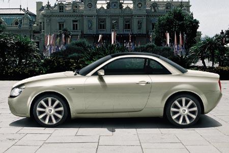 Lancia Fulvia Concept. de Fulvia concept car