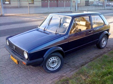 volkswagen golf 1 6 turbo diesel gl 1982. Black Bedroom Furniture Sets. Home Design Ideas