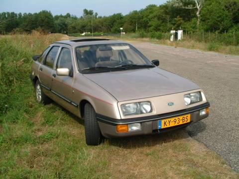 Ford Sierra 2 3 V6 Ghia 1984 Gebruikerservaring